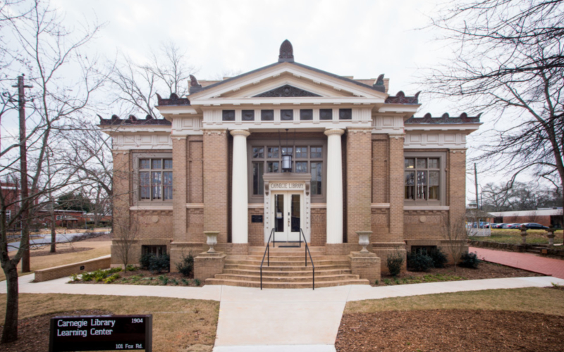 Carnegie library renovation dsi construction_17