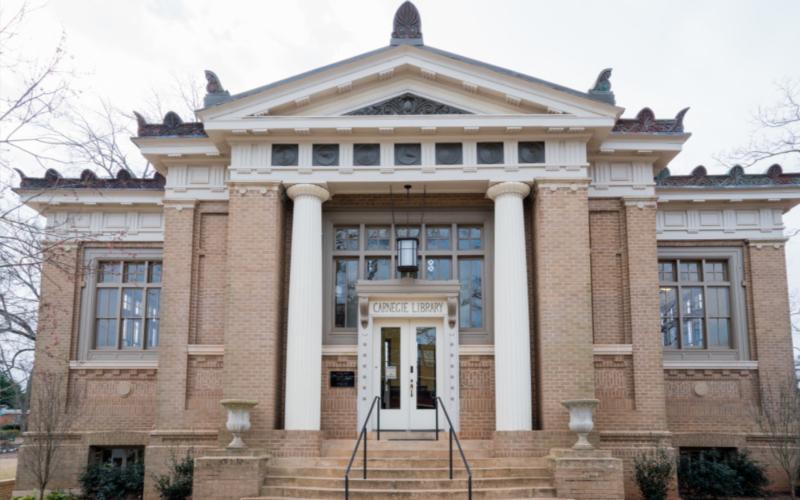 Carnegie library renovation dsi construction_19